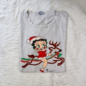 VTG Betty Boop Sleep Shirt Dress